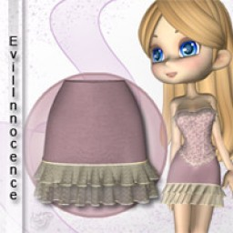 Lilac Skirt for Cookie