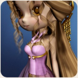 Mystic Realms: Lavanda Rose Shirt for Cookie Image