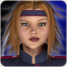 Space Defenders: Lieutenant Hair for V4 Image