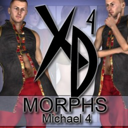 michael 4 xd morphs image