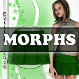 Morphs for V4 School Girl Skirt 2 Image