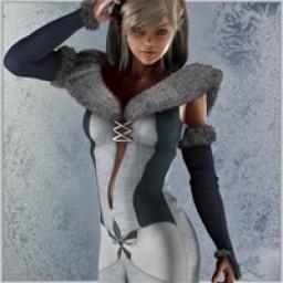 Snow Maiden for V4 Image