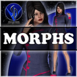 Morphs for V4 Space Defenders Communications officer Image