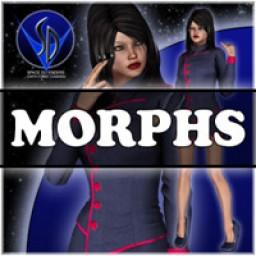 Morphs for V4 Space Defenders Communications officer Image