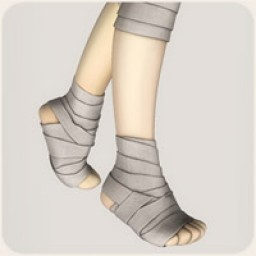 Ankle Bandages for Cookie
