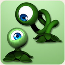 Eye Flower Poses
