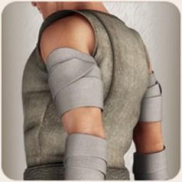 Shoulder Bandages for M4