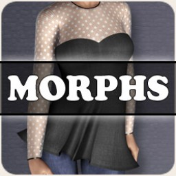 Morphs for V4 Darling Dress Image