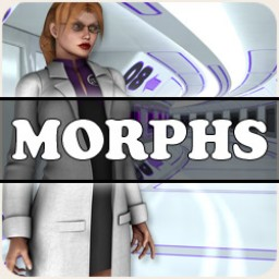 Morphs for Space Defenders Lunar: Research Scientist for V4 Image