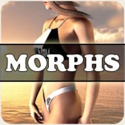 Morphs for V4 Heet Bikini Image