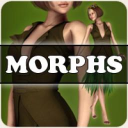 Morphs for V4 Woodland Fae Image