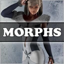 Morphs for V4 Snow Maiden Image