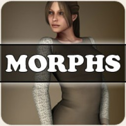 Morphs for V4 Peasant Dress