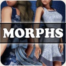 Morphs for V4 April Showers Dress