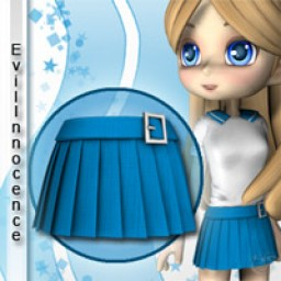 School Girl Skirt 1 for Cookie Image