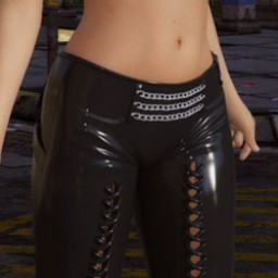 Night Slayers: Shadow Pants for Genesis 8 Female image