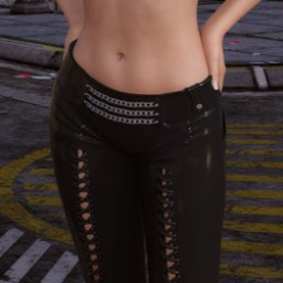 Night Slayers: Shadow Pants for Genesis 3 Female image