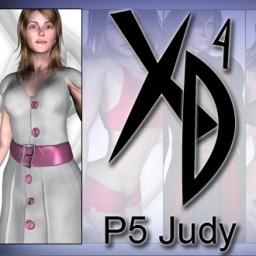 P5 Judy CrossDresser License Image