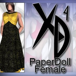 PaperDoll Female CrossDresser License Image
