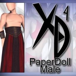 PaperDoll Male CrossDresser License Image