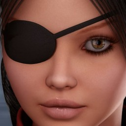 Pirate Eyepatch for V4  image