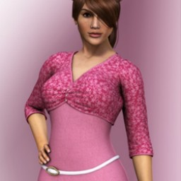 Pink Luv: HeartThrob Top for Dawn Image