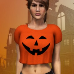 Pumpkin Shirt for Dawn image