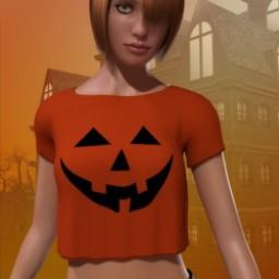 Pumpkin Shirt for La Femme image