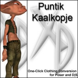 Puntik Kaalkopje crossdresser license image