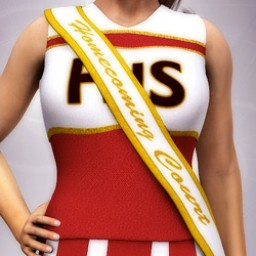 Homecoming Court Sash for Dawn