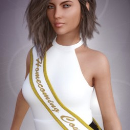 Homecoming Court Sash for Genesis 3 Female image