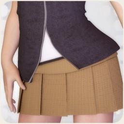 School Girl Skirt 2 for Michelle