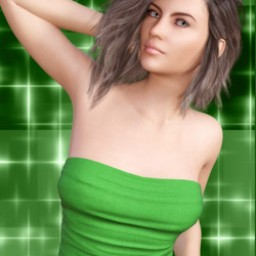 Shamrock Suit for Genesis 3 Female image