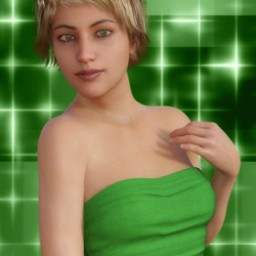 Shamrock Suit for Genesis 8 Female image
