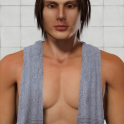 Shoulder Towel for Dusk Image