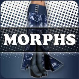 Morphs for V4 Asian Priestess Skirt