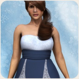 SnowFlower Lace Dress for Dawn Image