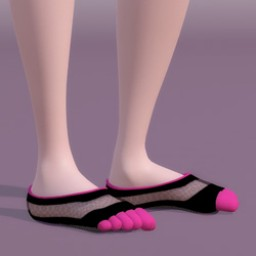 Footie Toe Sock for SuzyQ 2 Image