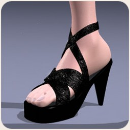 Strappy Heels for SuzyQ 2 Image