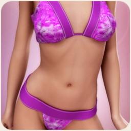 Spring Blossom Bikini for V4