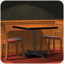 Pepe's Pizza Parlor - Table and Chair