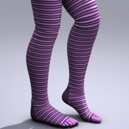 Thigh High Toe Sock for V4 Image