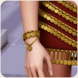 Thousand Nights: Desert Gem Bracelets and Anklets for V4 Image