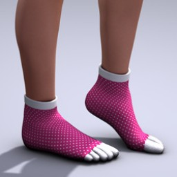 Toe Sock for V4 Image