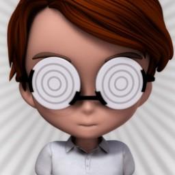 Toon Nerd Glasses for Chip Image