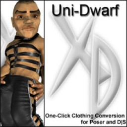 uni-dwarf crossdresser license image