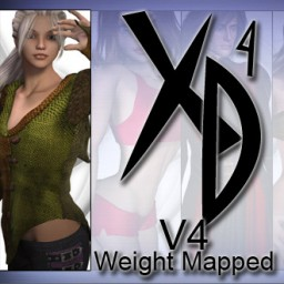 Victoria 4 Weight Mapped CrossDresser License Image