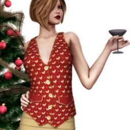 Holidays: Vest Xmas Image