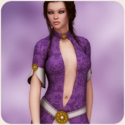 Ladies of the Court: Vivianna Dress for V4 Image