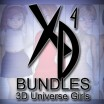 3D Universe Girls:  CrossDresser Bundle